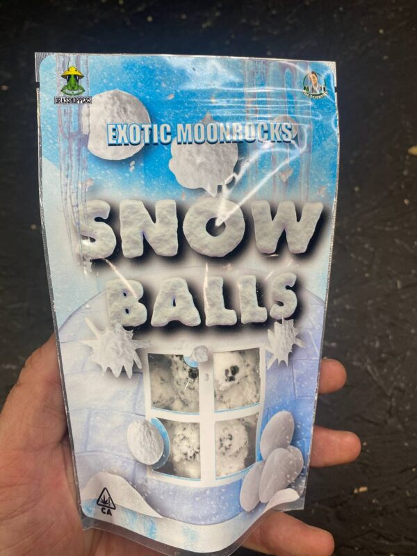 exotic moonrock snow balls